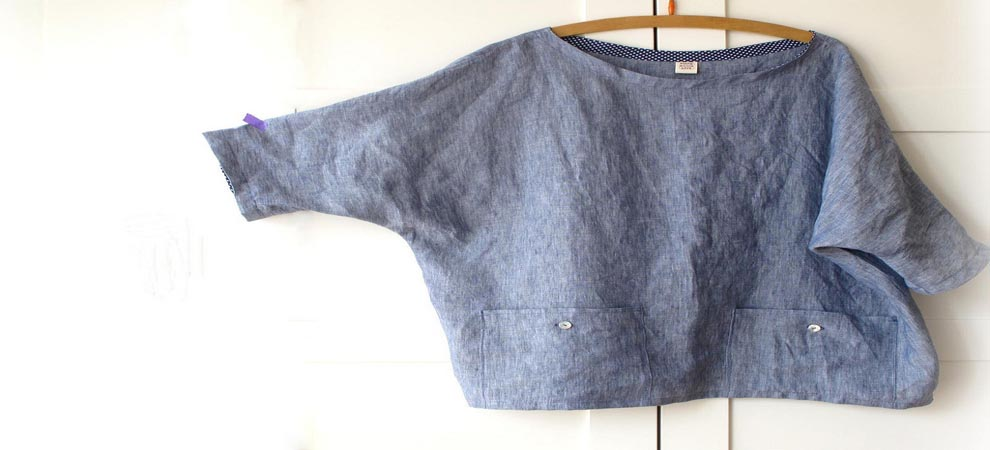 Linen clothing tops and shirts