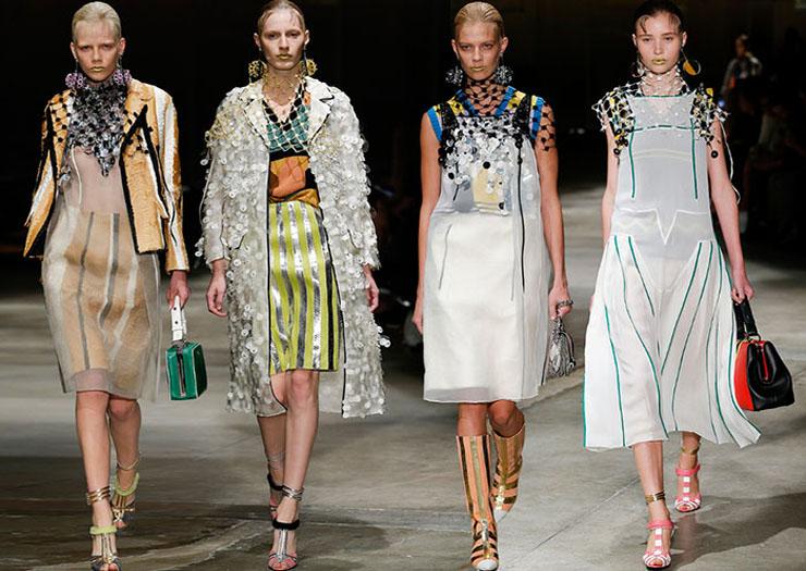 Prada fashion show 2016