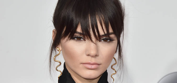 Kendall Jenner arrives at the American Music Awards at the Microsoft Theater on Sunday, Nov. 22, 2015, in Los Angeles. (Photo by Jordan Strauss/Invision/AP)