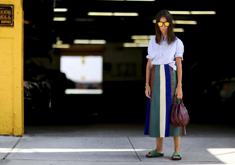Modne torebki jesien 2016 Summer fashion trending striped skirts