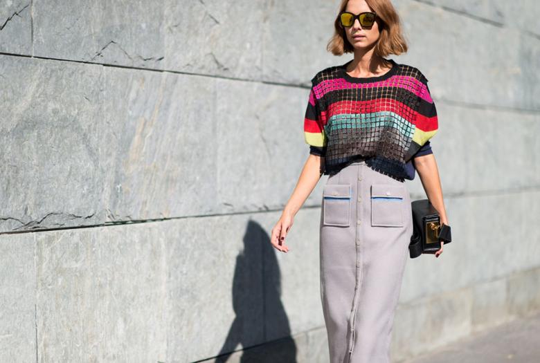 Maria Duenas Jacobs striped jackets work wear