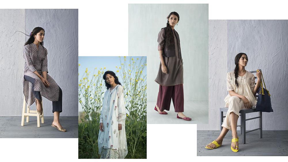 Mulmul kurtas and clothing range