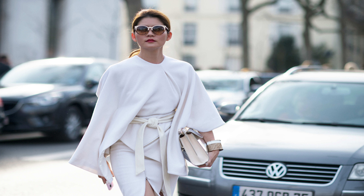 Street fashion – Paris fashion week fall 2015