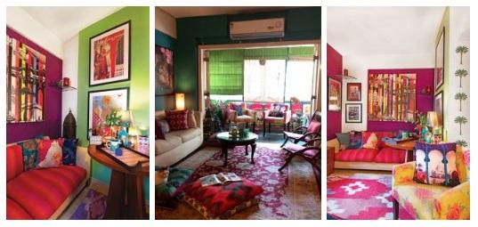 Krsna Mehta's home room - Designer home