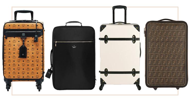 MCM travel luggage bag
