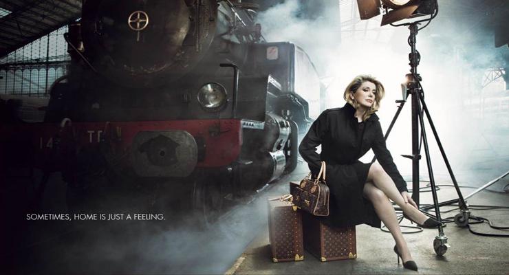 Catherine Deneuve Louis Vuitton