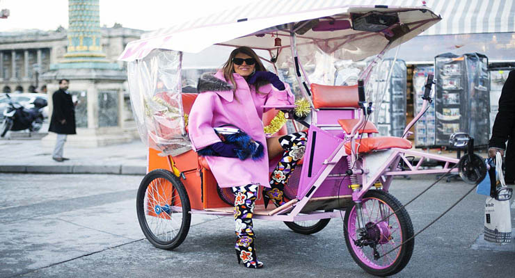 anna dello russo street style – toe prints