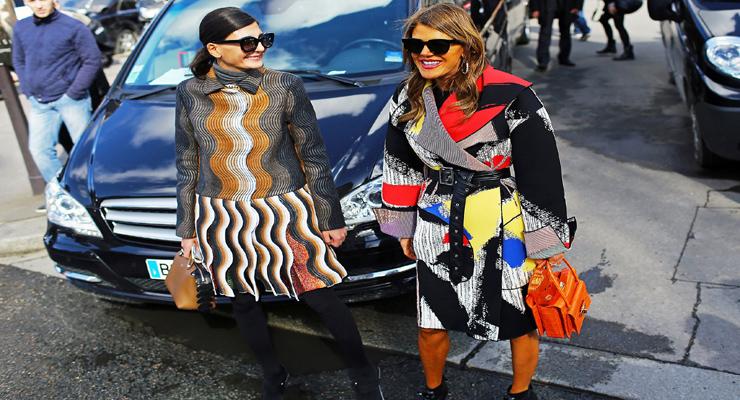Prints on prints fashion