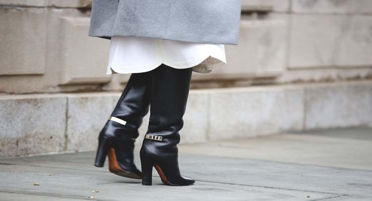 New York Fashion Week best shoes trends