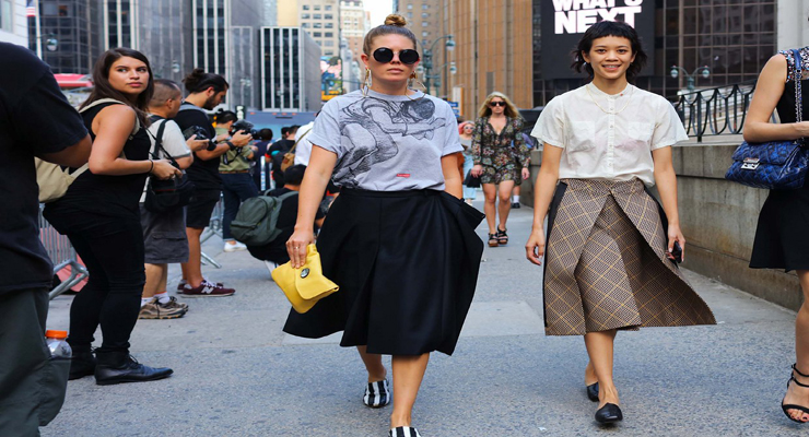 New York city street wear fashion