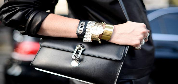 Watches street style – New York fashion week