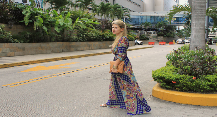 Dress in Panama city – maxi dress