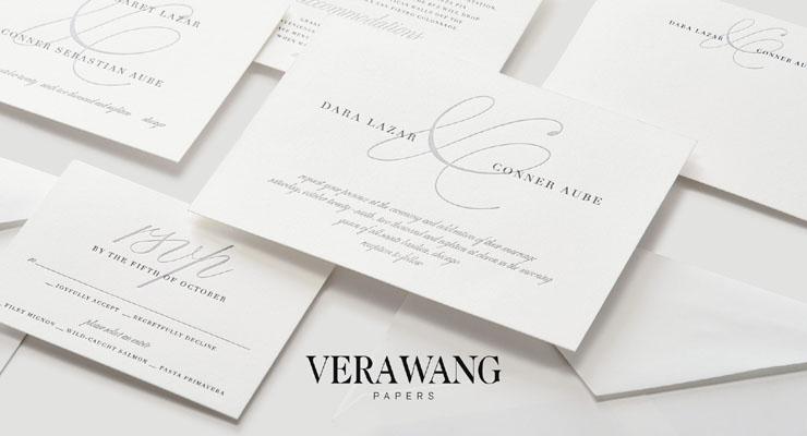 vera wang wedding invitations