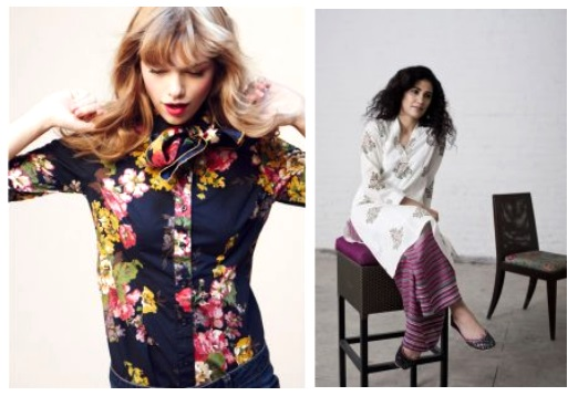 Floral shirts for women