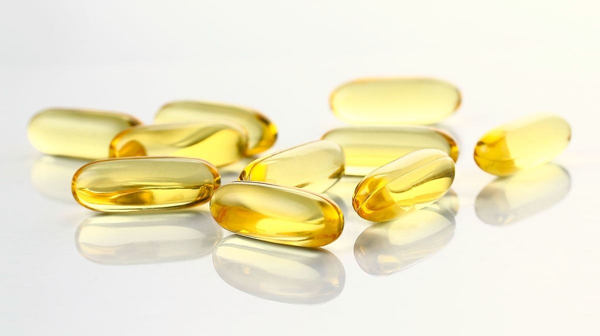 Beauty supplement capsules – cod liver oil capsules