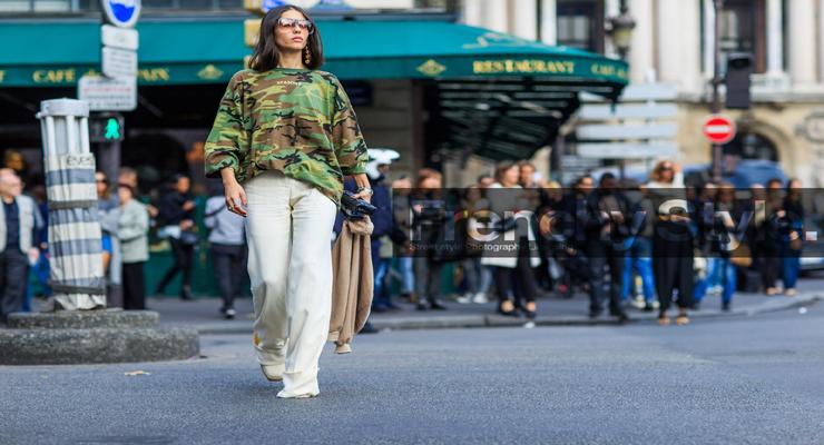 French style fashion linen pants