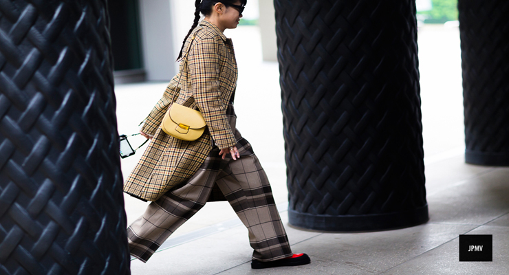 London fashion week street style pants