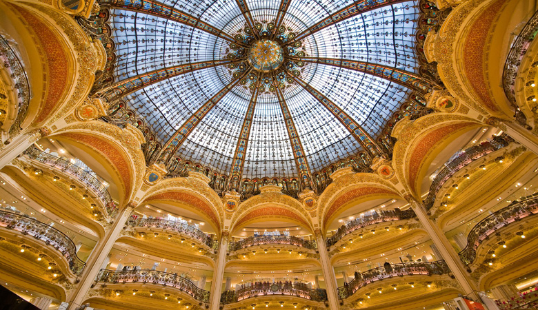 Traditional Art Nouveau - galeries lafayette store