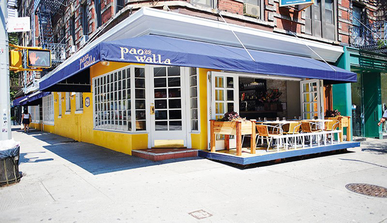 Indian Restaurants abroad - Paowalla NYC