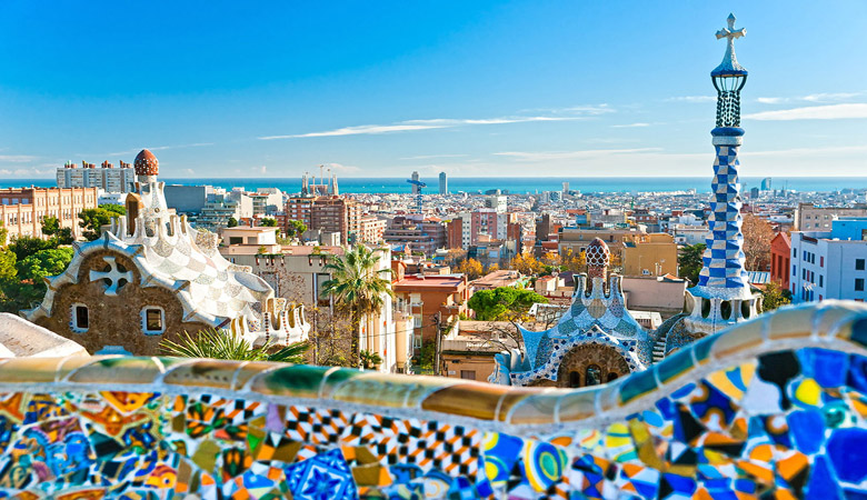 Vacation in Barcelona, Spain