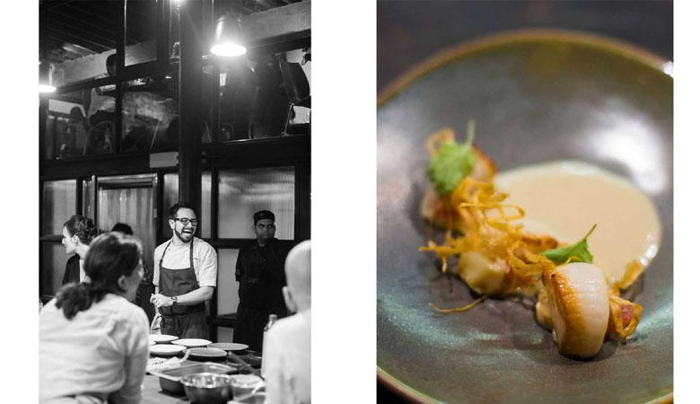 Chef Alex Sanchez at Magazine Street Kitchen