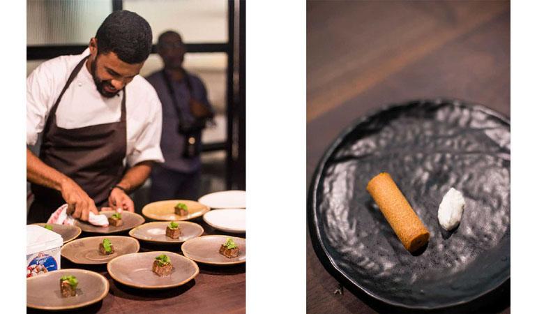 Chef Gresham Fernandes at Magazine Street Kitchen