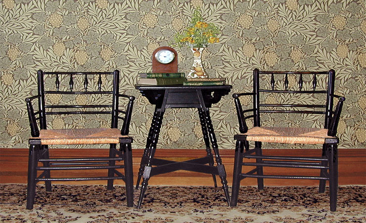 sussex-chairs-and-vine-wallpaper