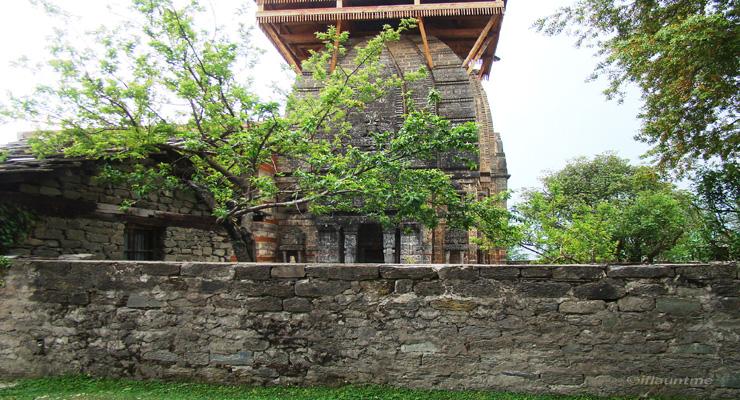 Krishna temple at Naggar