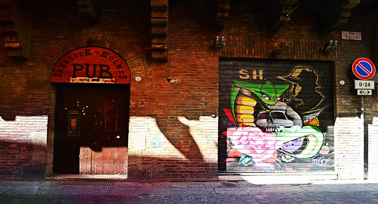 Street art Bologna Italy – Street art in Italy Bologna