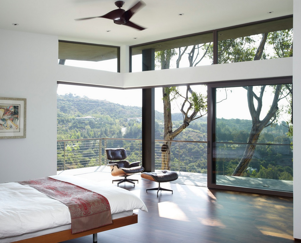 bedroom with a view – Natural lights Bedroom interior designs