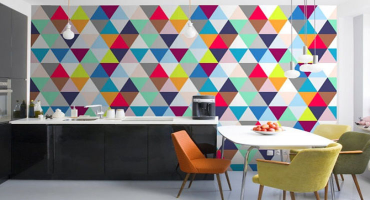 amazing-kitchen-with-colorful-geometric-wallpaper-1024x682