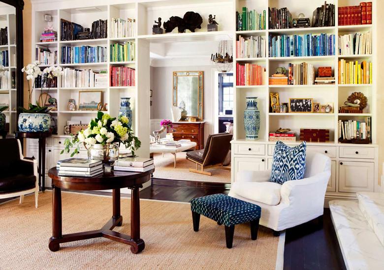 Home décor - bookshelf ideas for living room