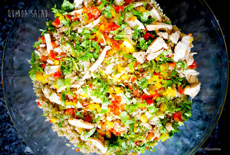 food quinoa salad - healthy eating ideas and recipes