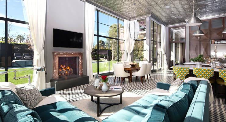Interior design art deco