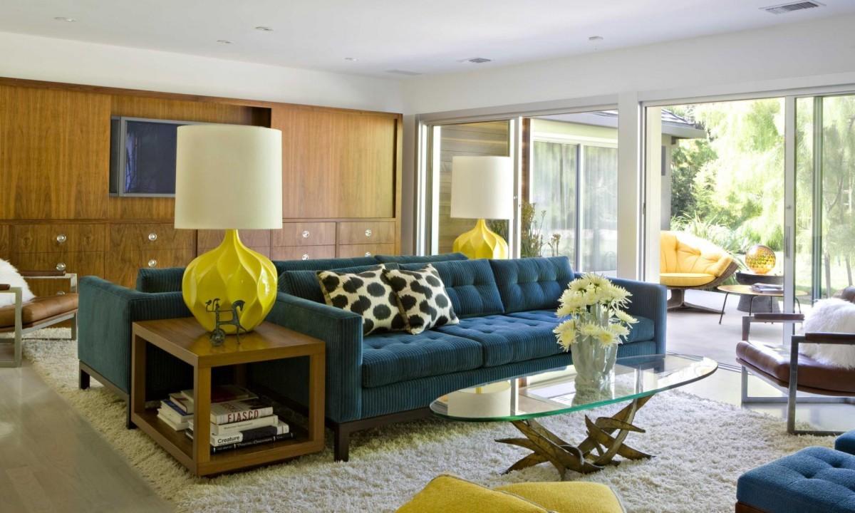 Mid century modern décor furniture