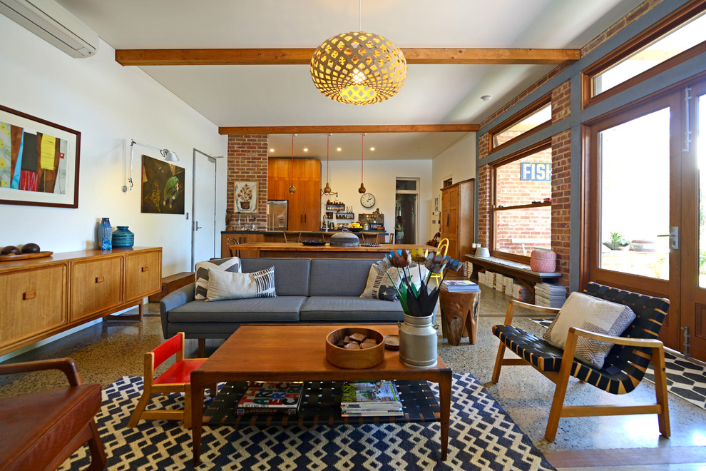mid-century-modern-sofa-living-room-midcentury-with-australian-ecclectic-exposed-beams