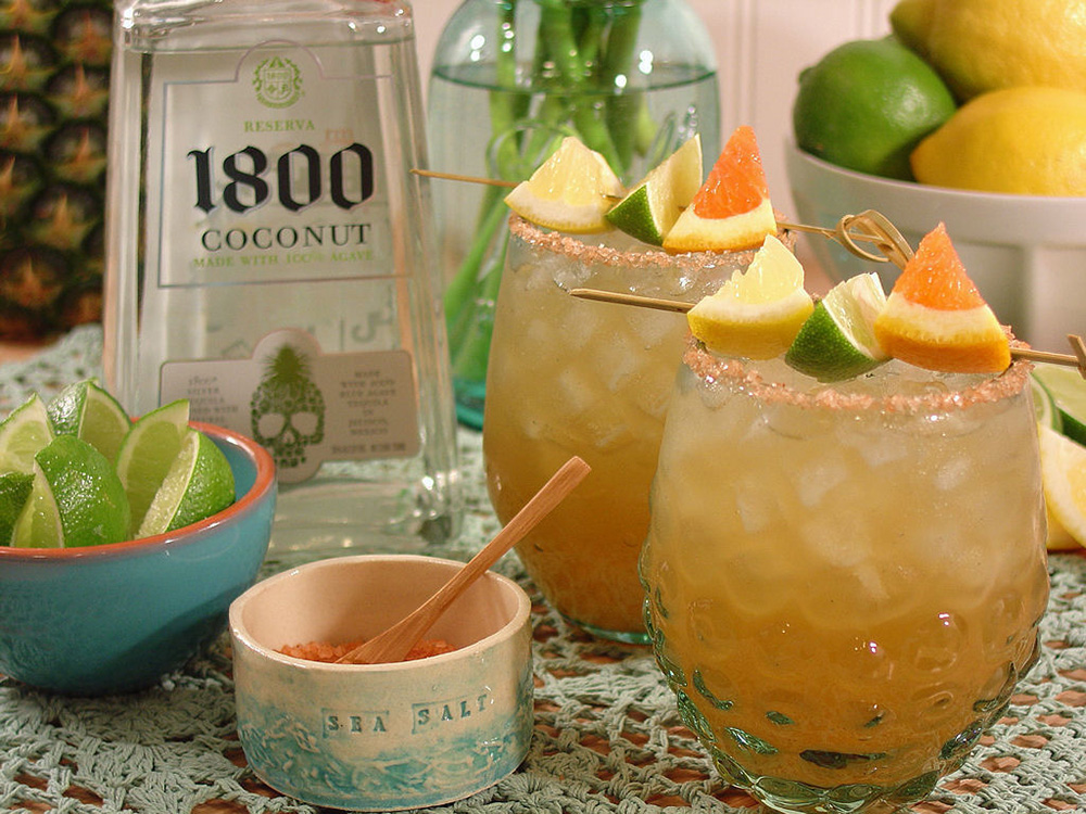 1800 coconut tequila - coconut ginger lime margarita tequila