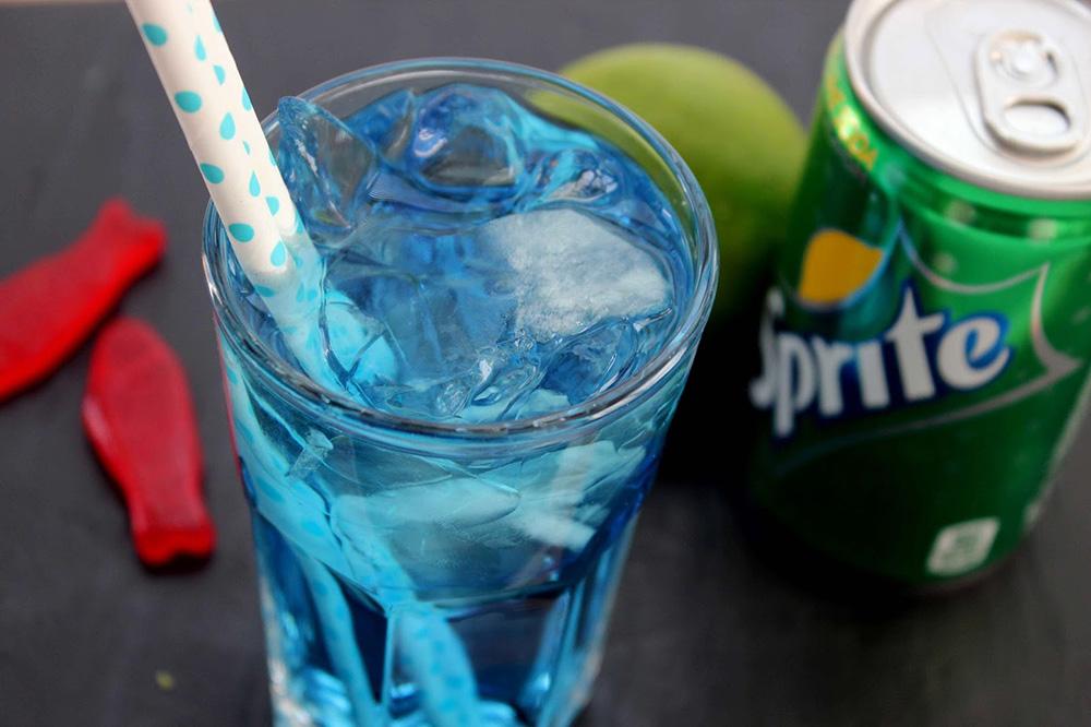 sonic ocean water cocktail drink