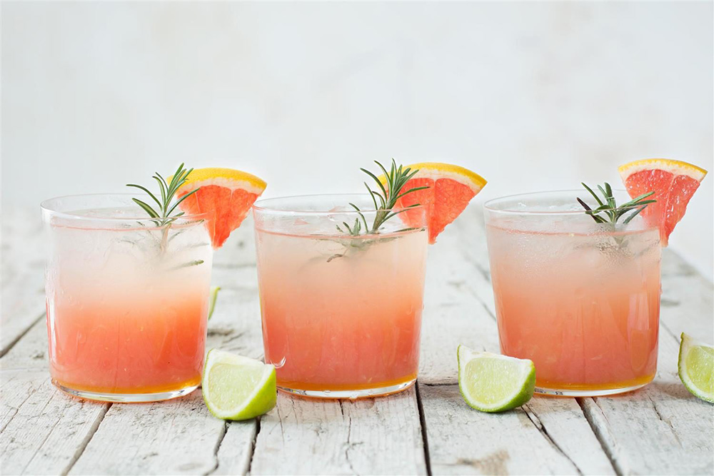 grapefruit lime rosemary cocktail
