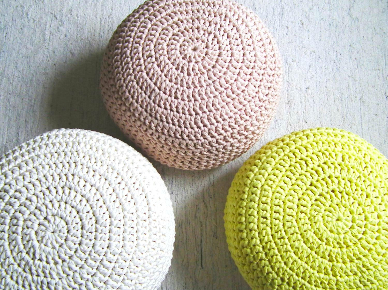 ottoman pouf – creative textures - floor cushions