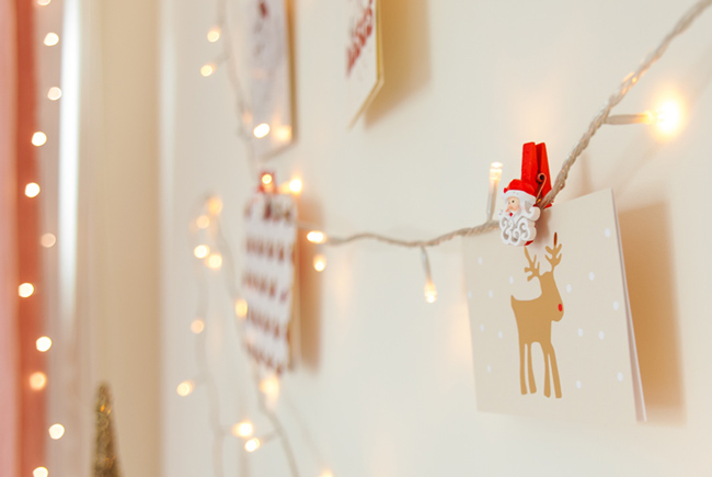 christmas-card-wall