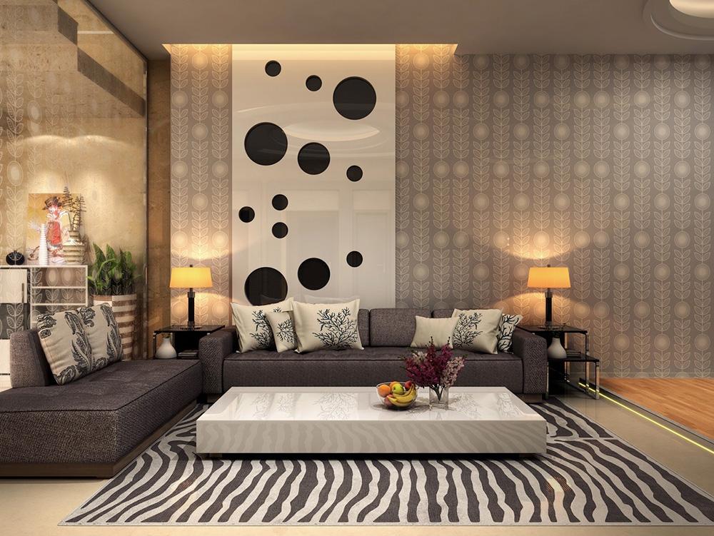 bold floor patterns home decor maximalism