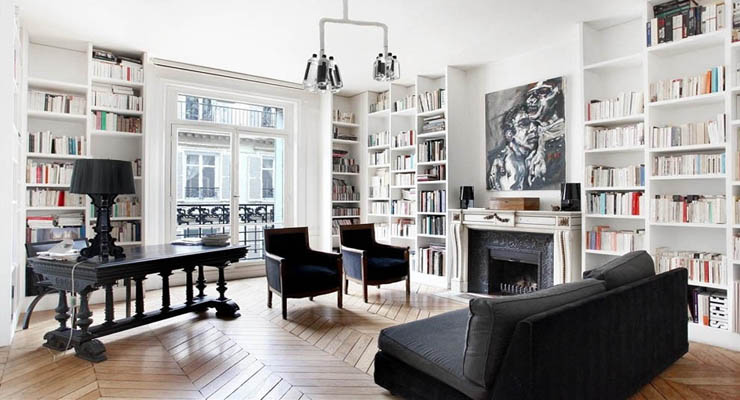 furnishings-are-another-popular-theme-throughout-these-french-homes-modern-parisian-home-decor