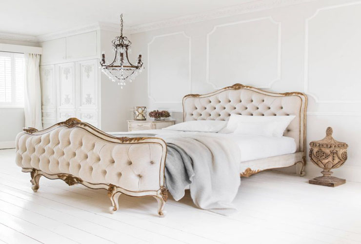 traditional-bedroom-french-parisian-tufted-bed-diy-diamond-headboard-all-white-hardwood-floors-gold-versailles-inspired-pinterest-shop-room-ideas-style-768x659