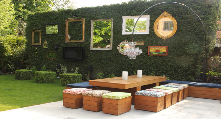 mirror-frame-decorating-ideas-patio-shabby-chic-style-with-outdoor-entertaining-outdoor-tv-colorful-outdoor-fabric