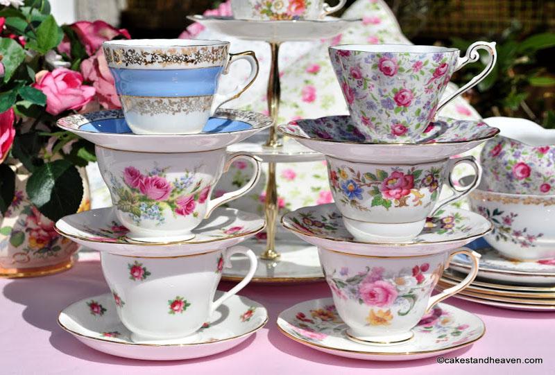 Tea set – crockery