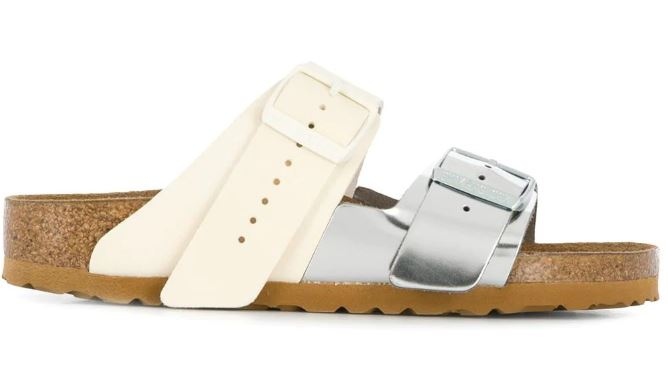 Birkenstock buckle slides