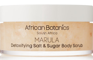 Marula Detoxifying Salt and Sugar Body Scrub