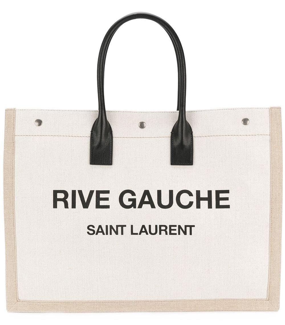 Rive Gauche logo tote