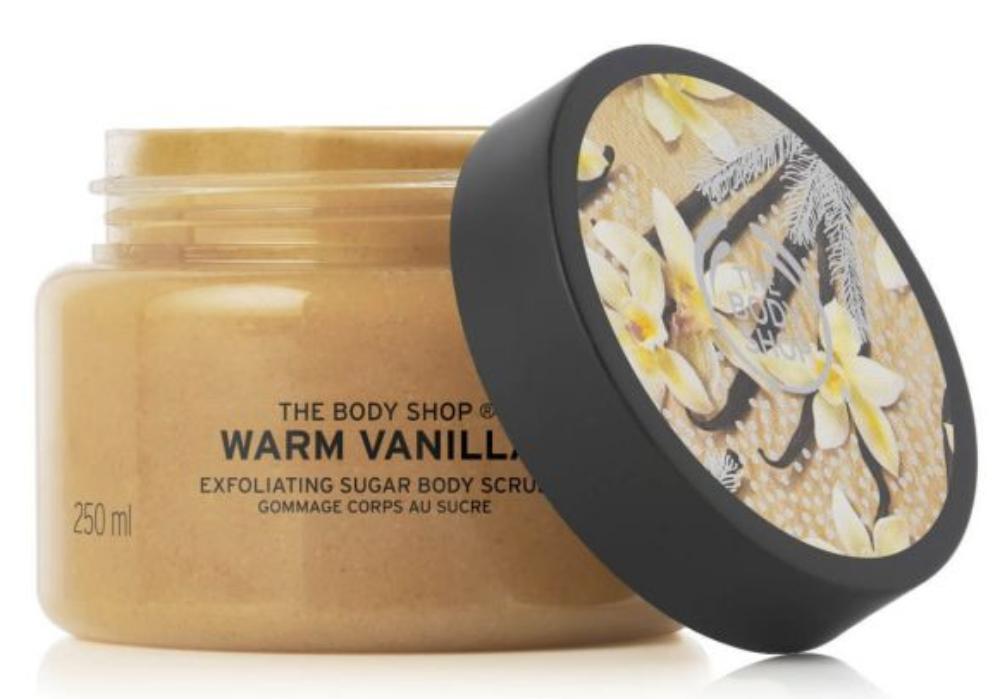 Warm Vanilla Body Scrub
